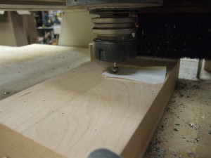 Carving process-#1-Setting up the machine-Z-top